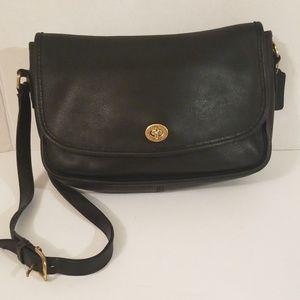 Coach Vintage City Black Handbag Purse